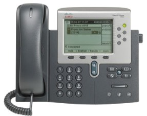 Cisco Unified IP Phone 7962G front